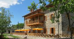 Hotel Deutsche Mühle: Terrasse hinten