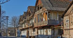 Häuser in Bolnisi