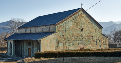 Die Sioni Kirche in Bolnisi